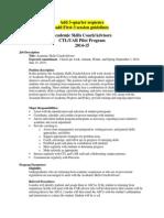 Orientation Packet