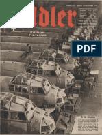 Der Adler - Jahrgang 1941 - Numero 23 - 18 - 18. Novembre 1941 (Édition française)