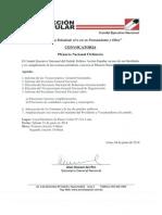 Plenario Nacional - 21 de Junio 2014
