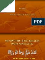 4.Meningitis Bakterialis Pada Neonatus