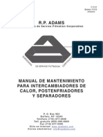 Aftercooler O&M Manual-Bulletin 710D-Spanish