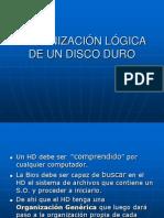 Organización Lógica de Un Disco Duro