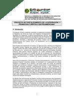 Proyecto de Fortalecimiento de La Integración y Promoción Turística de Centroamérica