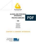 Withdrawal guidelines - Cannabis