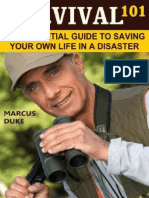Survival 101 the Essential Guide to Saving Your Own Life in a Disaster, 2e