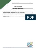 CourseOutline-Microsoft Windows