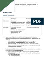 Sección 1 La Empresa Concepto, Organización y Estructura