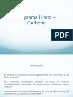 Diagrama Hierro-Carburo de Hierro