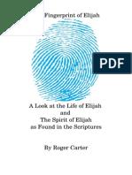 The Fingerprint of Elijah