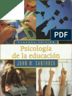 Psicologia de La Educacion Parte i