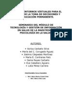 Uso de Entornos Virtuales Para El Proceso de La Toma de Decisiones (1)
