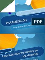 lesiones paramedicos