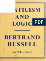 Mysticism and Logic Russell