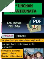 LAS HORAS DEL DIA EN QUECHUA.pptx