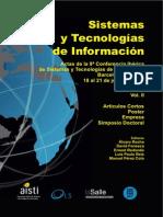 CISTI2014 - Modelagem de atividade docente com uso de recursos tecnológicos a luz da teoria da atividade Autores