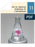 11 - Reactions in Aqueous Solutions II Calculations