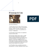 El mensaje de Caín- Bernardo Kliksberg