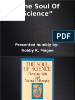 Soul Of Science PowerPoint