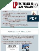 Trabajo de Calidad en La Contruccion-paúl Quicaño Molina