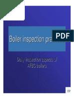 Boiler Inspection -Daily