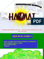 Emergencias Cloro