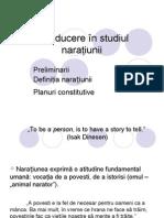 Strategii Ale Discursului Narativ 1 Introducere