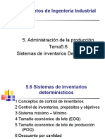 Ele Ing. Ind 5.6 Inv. Deterministicos( 68 Diap)A