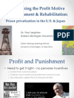 Private Prisons in the US and Japan