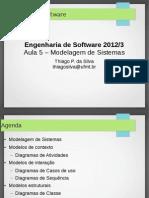 Aula 5 - Modelagem de Sistemas