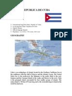 Cuba Final Report 2003