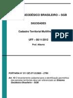 SGB Multifinalitario 2012