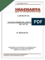 Acs Lab Manual Ivsem