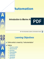 1. Introduction to Marine Automation