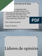 Líderes de opinión.pptx