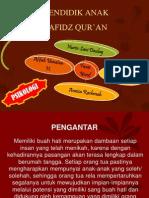 Pp Mendidik Anak Hafidz