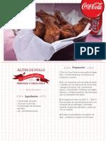 Recetas Coca-Cola Alitas DePollo