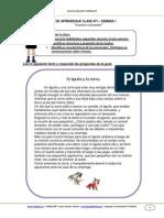 Guia de Aprendizaje Lenguaje 3b Semana 1 2014