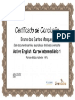 Active English Curso Intermediário 1