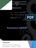 Perforadora D90KSP