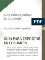 Pasos Para Una Exportación