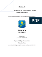 Paper Komunikasi Antar Budaya