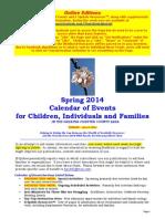 Calendar of Events - June 8, 2014