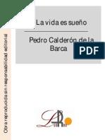 La Vida Es Sueno - Barca, Pedro Calderon de La_14874