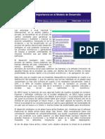 La Cogestión y Su Importancia en El Modelo de Desarrollo Endógeno