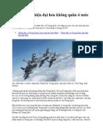 Trung Quốc Hiện Đại Hóa Không Quân ở Mức Chưa Từng Có