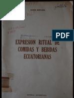 Expresión Ritual de Comidas y Bebidas Ecuatorianas
