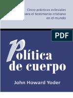 Politica Cuerpo Completo
