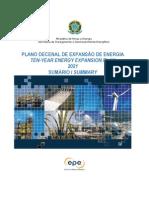 Sumario PDE 2021