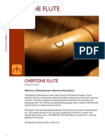 Microhammer Overtone Flute Readme