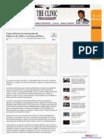 1-. the Clinic - Carta Abierta a La Asociación de Editores de Chile y La Furia Del Libro